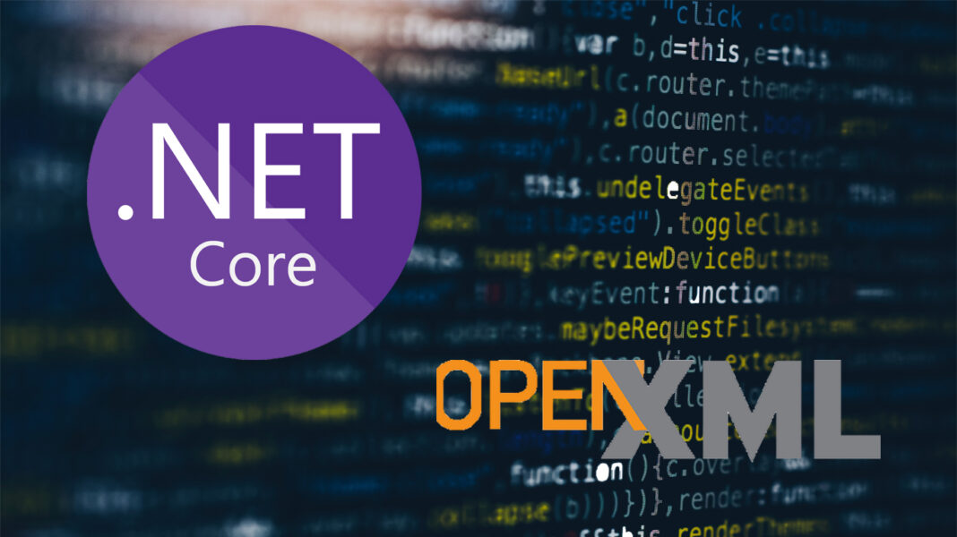 Cara Pakai Open XML di .NET Core bagi Software Developer Indonesia