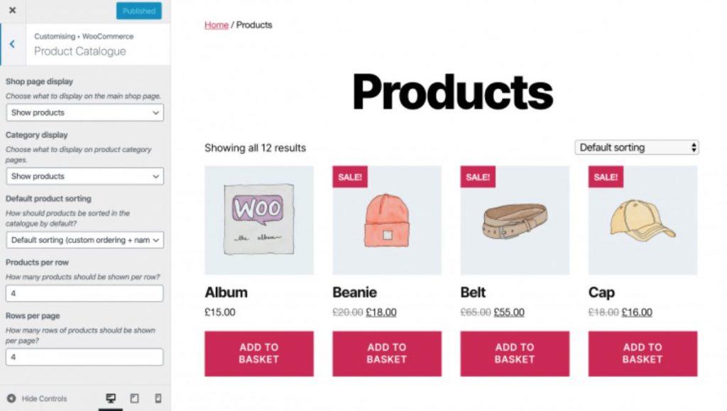 cms ecommerce terbaik online shop contoh website custom
