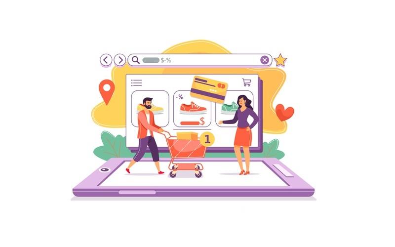 website web jasa pembuatan e-commerce