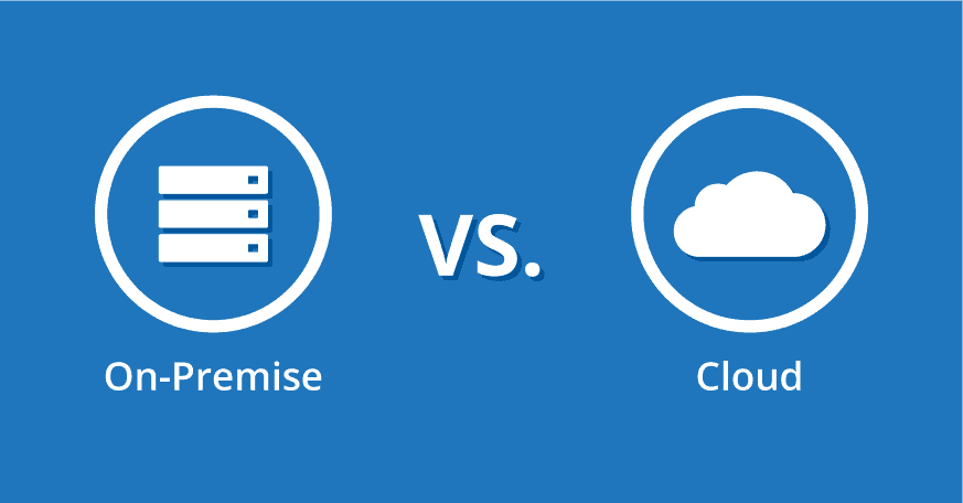 on premise cloud terbaik public private