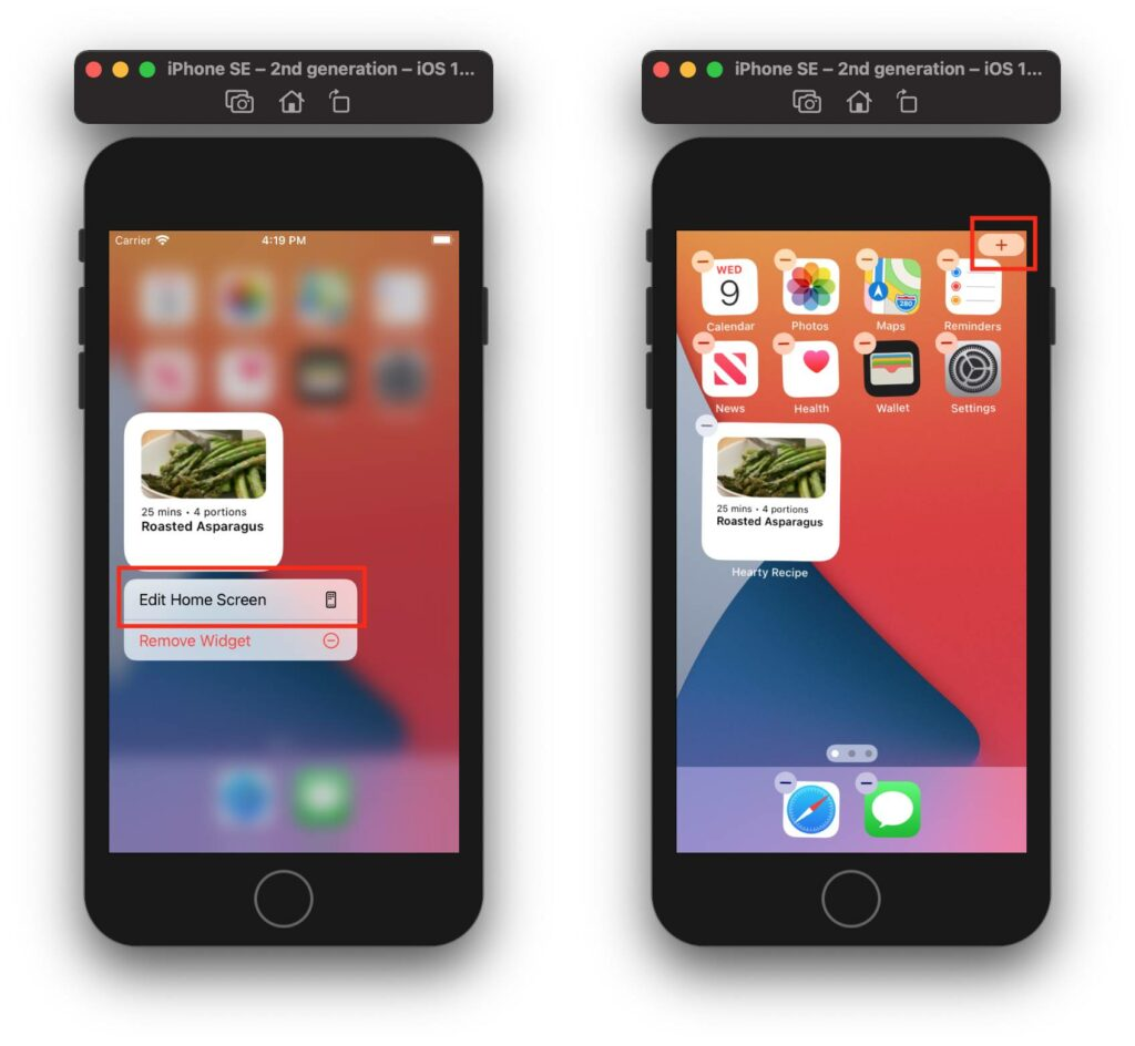 ios 1 how to make apps widget extension size