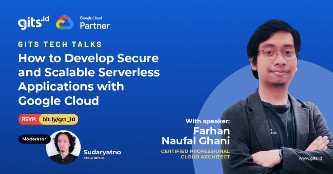 build serverless application secure scalable