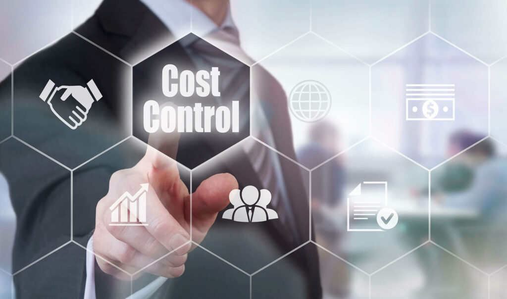 reduce business cost or control with cloud